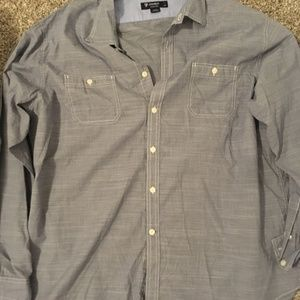 Cremieux Men's XXL Dress Shirt Long Sleeve